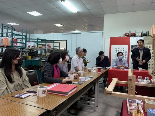 亞東技術學院辦理福聯國際有限公司商品再活化企業參訪-工商業設計系