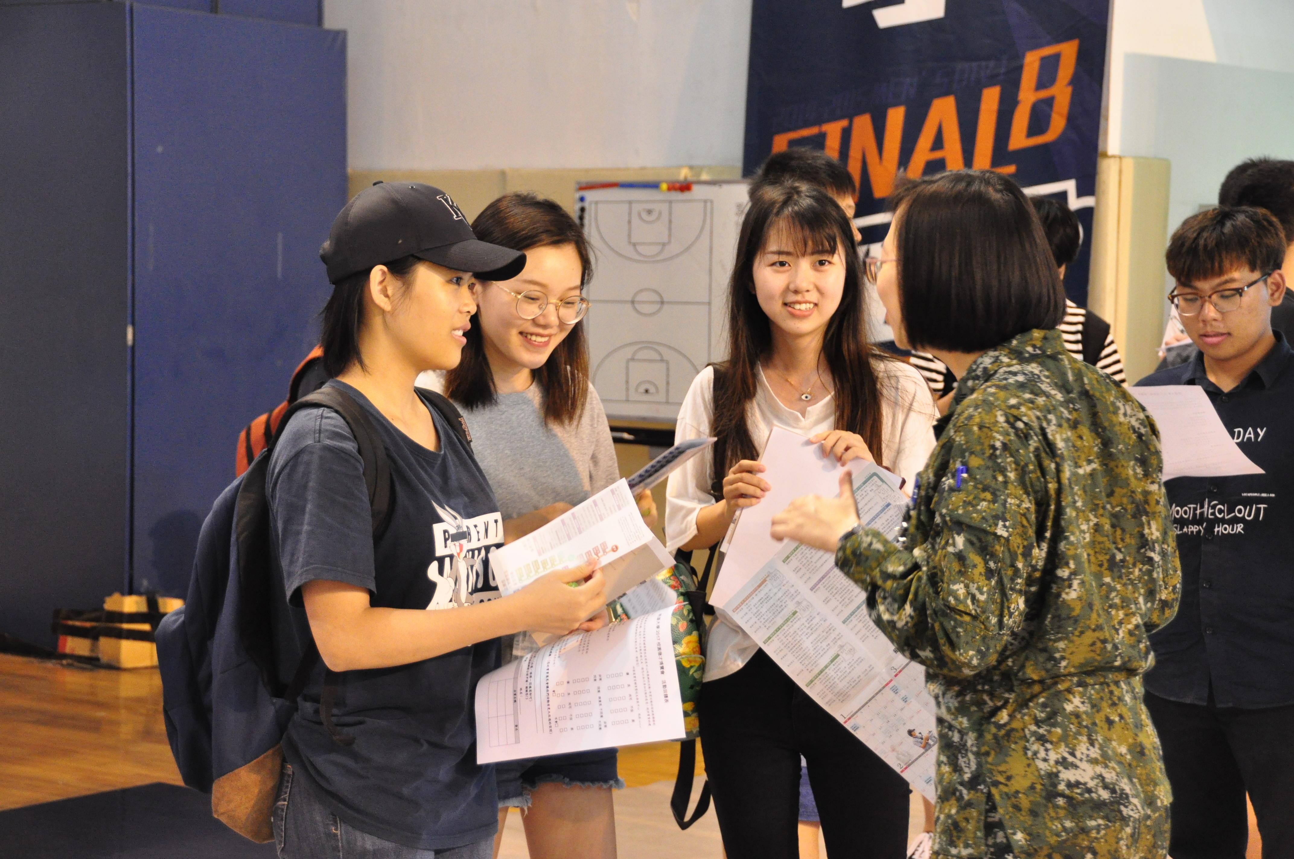明道大學就業博覽會提供上千職缺,廠商端幸福找人才-明道大學