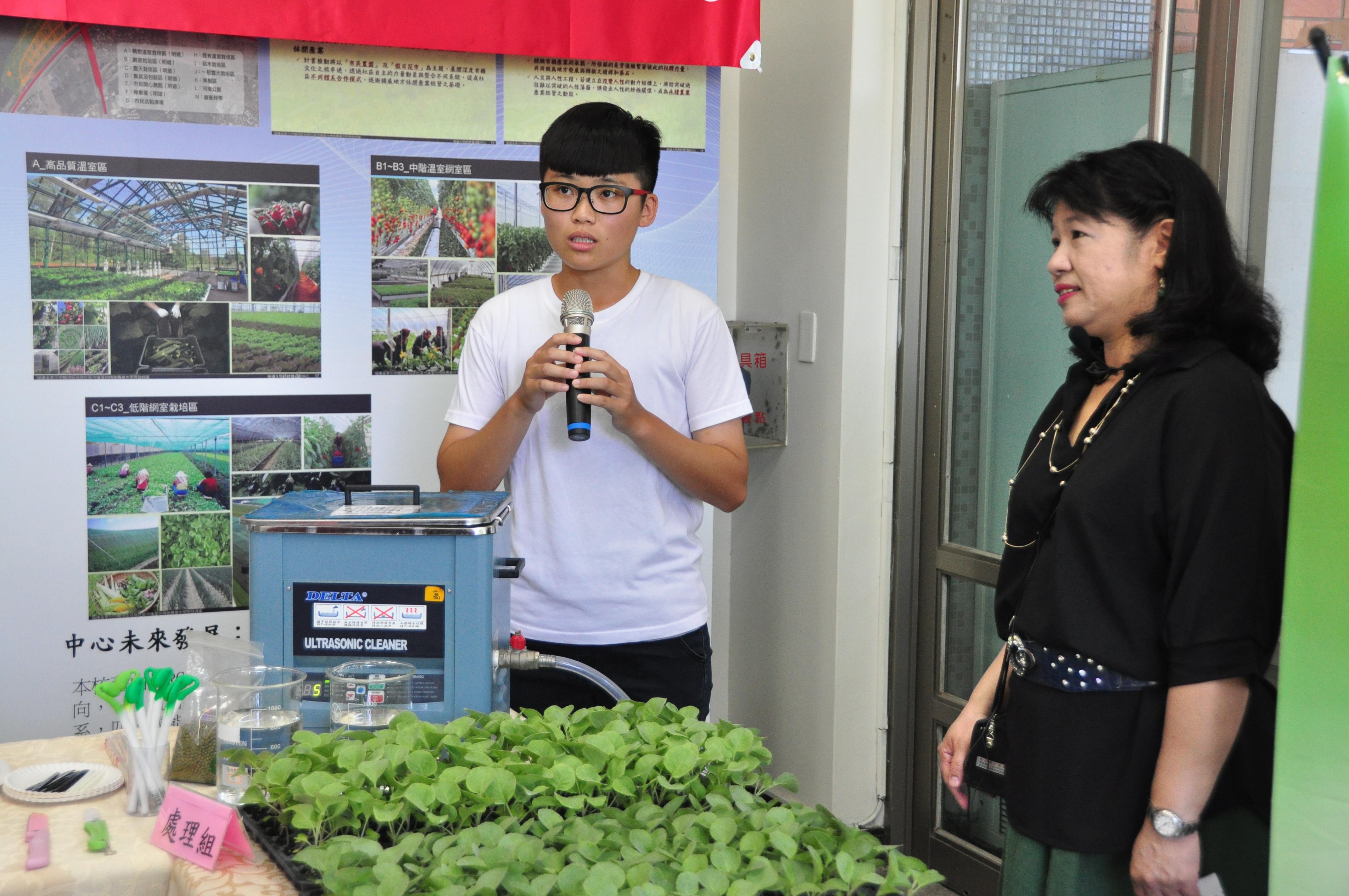 明道成功研發超音波育苗設備,豆芽菜天然無毒最健康-有機農業