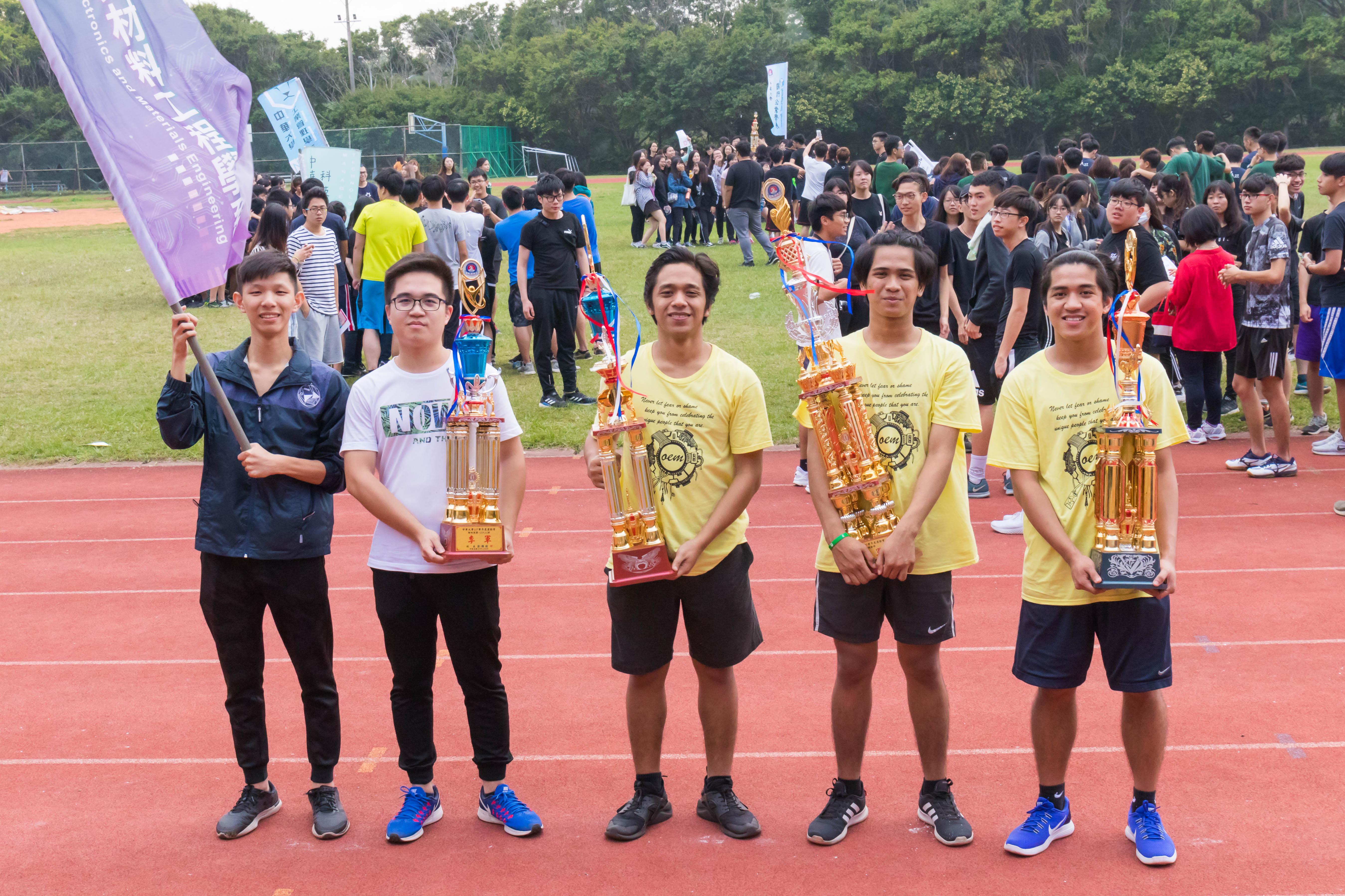 大學運動會吹起國際風,台菲學生合作拿下精神總錦標-大學運動會