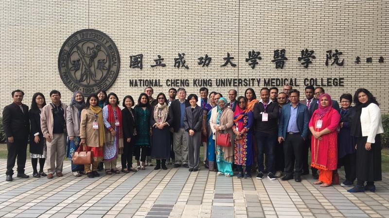 成大公衛所新南向計畫 孟加拉26位專家學者前來研習-成功大學