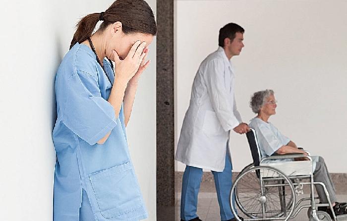 自稱是機構「負責人」不顧護理師勸大鬧醫院,還頤指氣使治療師作法不對!-失智老人