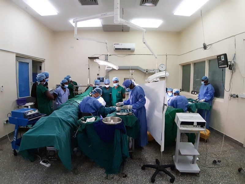 4天完成50例!成大醫院支援肯亞共同完成心血管外科手術-心臟血管外科