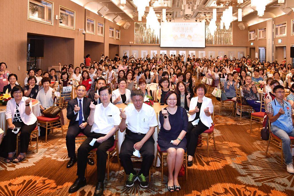 柯P出席國際護師節大會 感謝讚揚護理師偉大無私的奉獻-三軍總醫院
