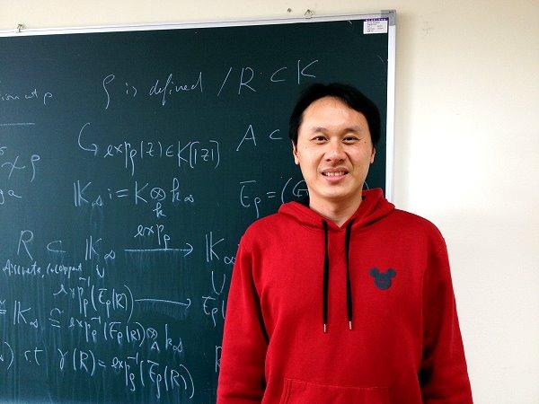 昔日王牌投手 清大數學系教授張介玉-師資課程