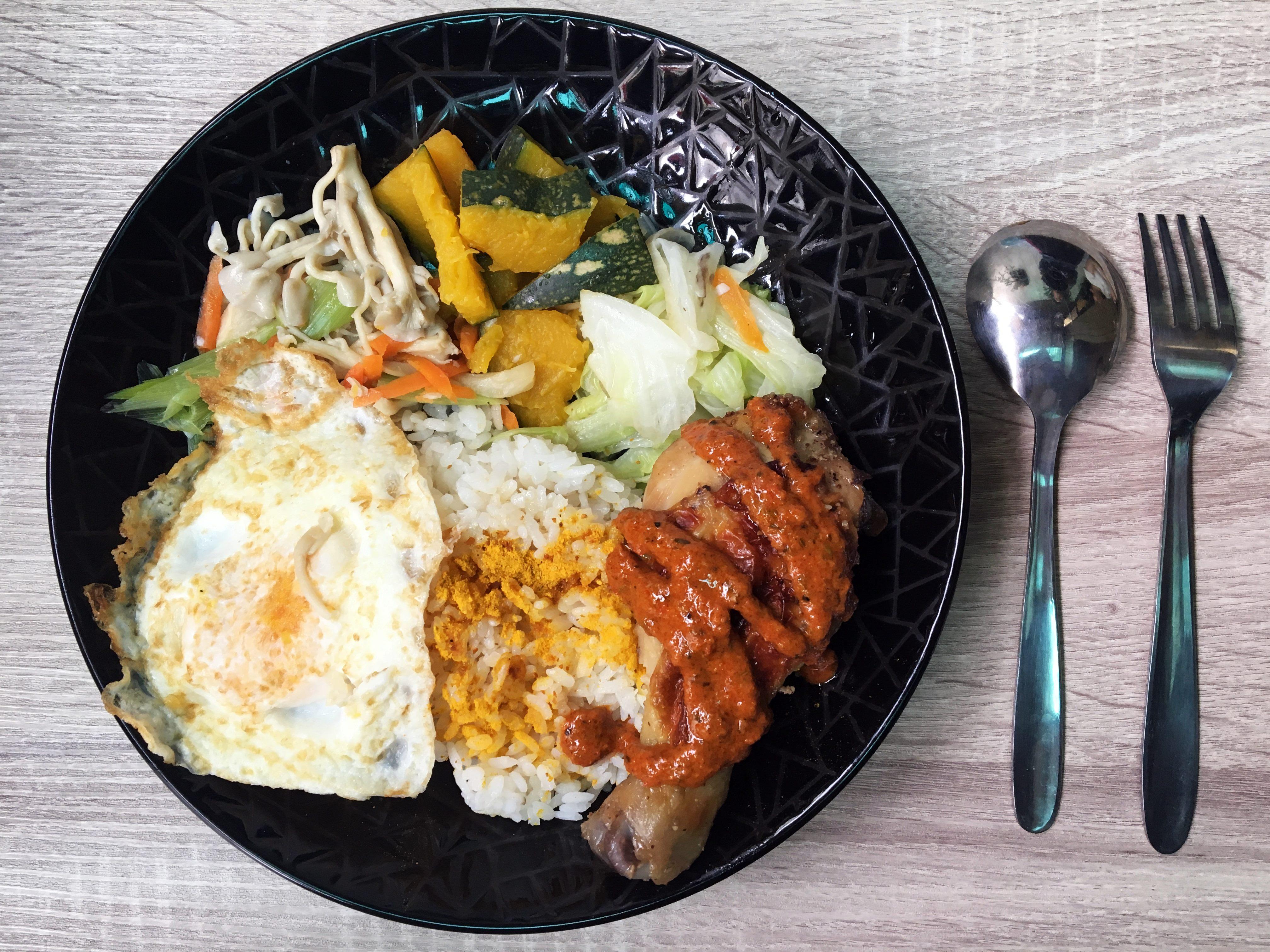 大吉大利,今晚吃雞!後育樂新店—雙城烤雞-大漠孜然雞片飯