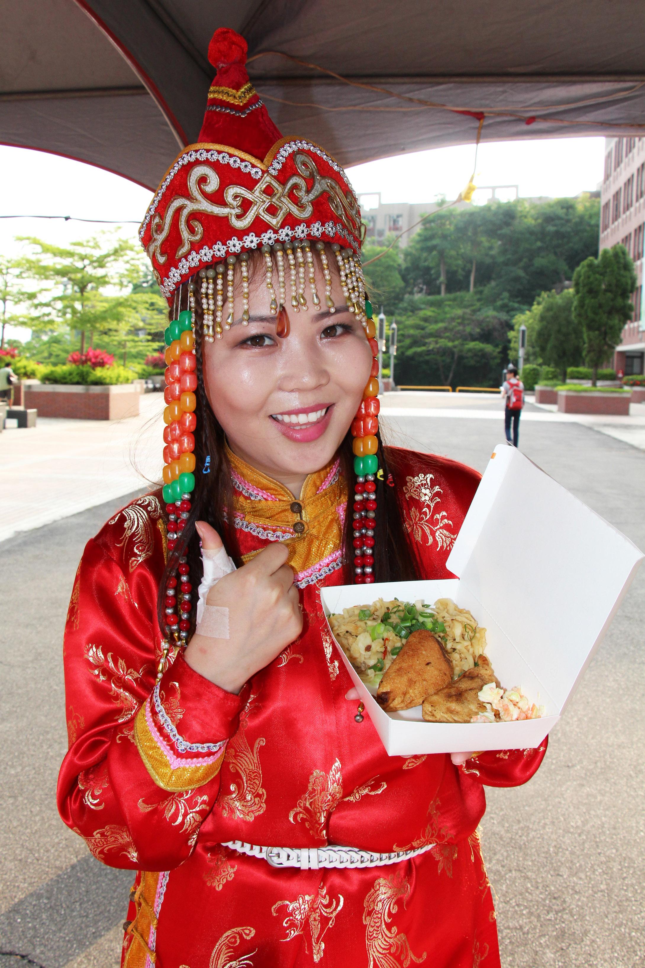 大葉大學蒙古文化日  義賣助蒙古兒童醫院-大葉大學