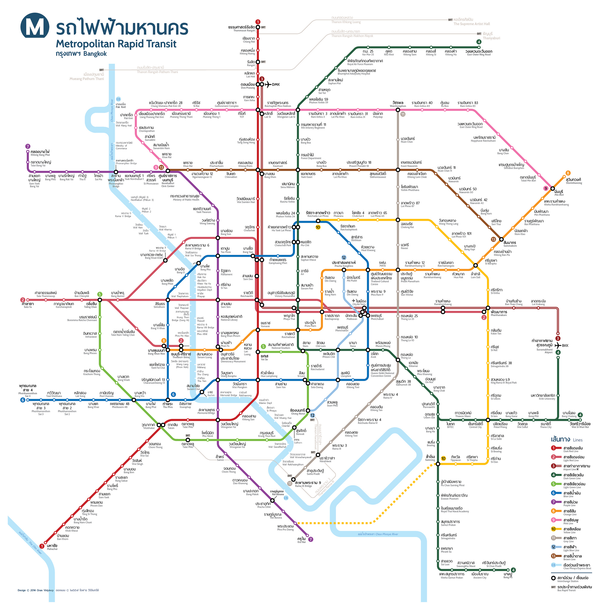 你也是捷運族嗎?帶你認識泰國捷運 新路線! -台泰人才平台