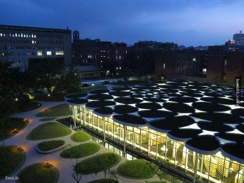 精選國內外美到呆愣的大學圖書館-台東大學