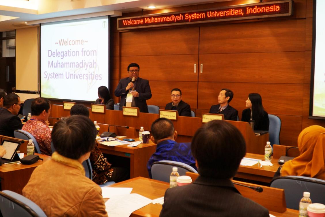 印尼穆罕默德大學聯盟參訪大葉大學-大葉大學