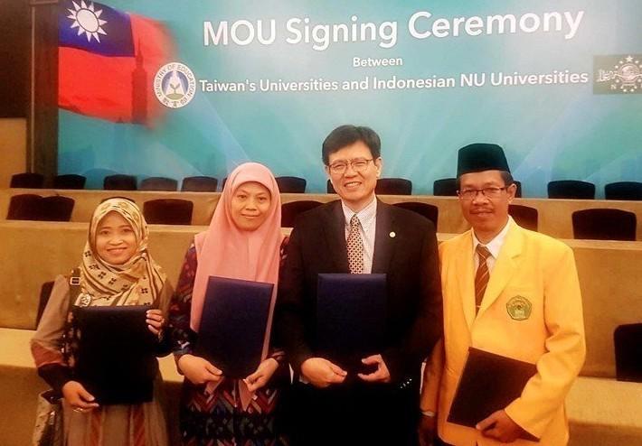 再拓新南向 中國科大與印尼24大學簽MOU-中國科技大學