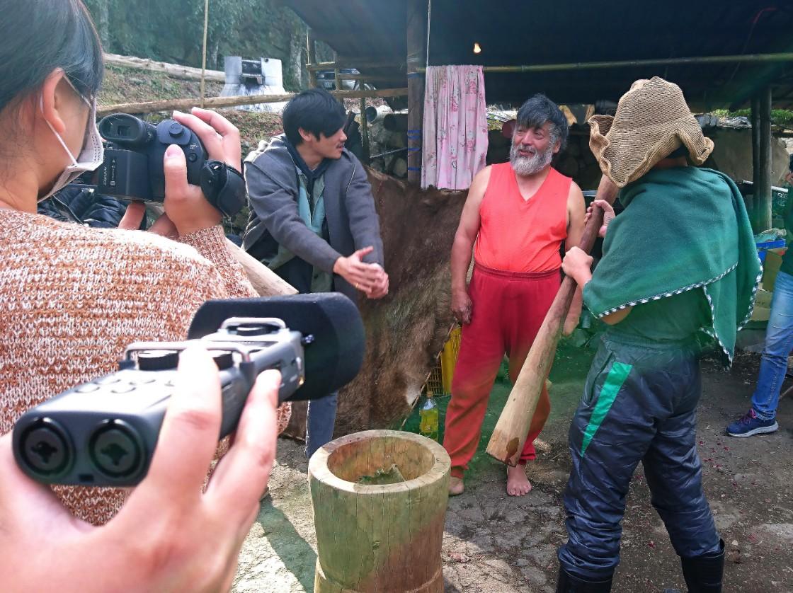 從在地出發 中正學生拍片記錄三興村小人物和鄒族打獵文化-中正大學