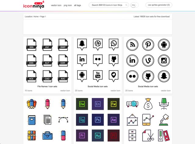 Icon Ninja 推薦免費圖示搜尋引擎,收錄將近 70 萬個 PNG、SVG 圖案下載-Icon Ninja