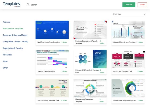 Templates 免費 PowerPoint 簡報範本下載,讓你的報告呈現最佳效果-PowerPoint模版