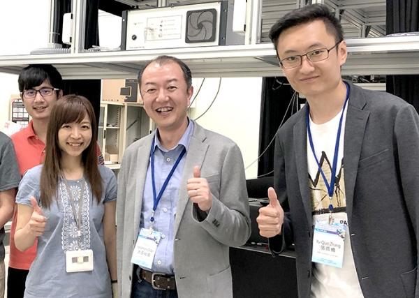 交大電物系、北海道大學合作 研發電子三明治-北海道大學