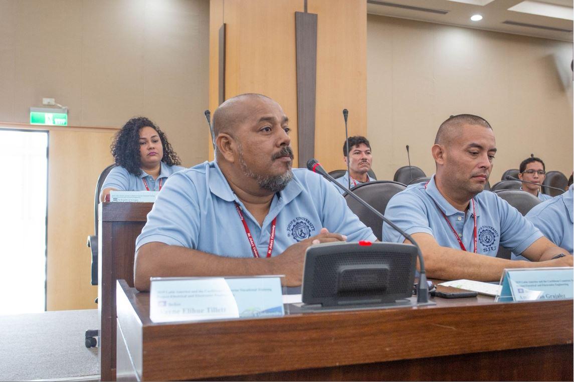 拉美18青年來台職訓 聖約翰科大助5友邦培育電機人才-友邦