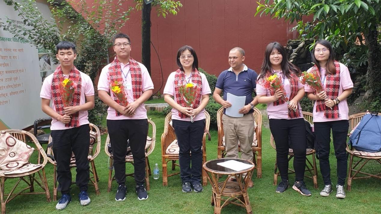 元培醫事科技大學首度跨三學系赴尼泊爾進行學生專業海外實習-元培醫事科技大學