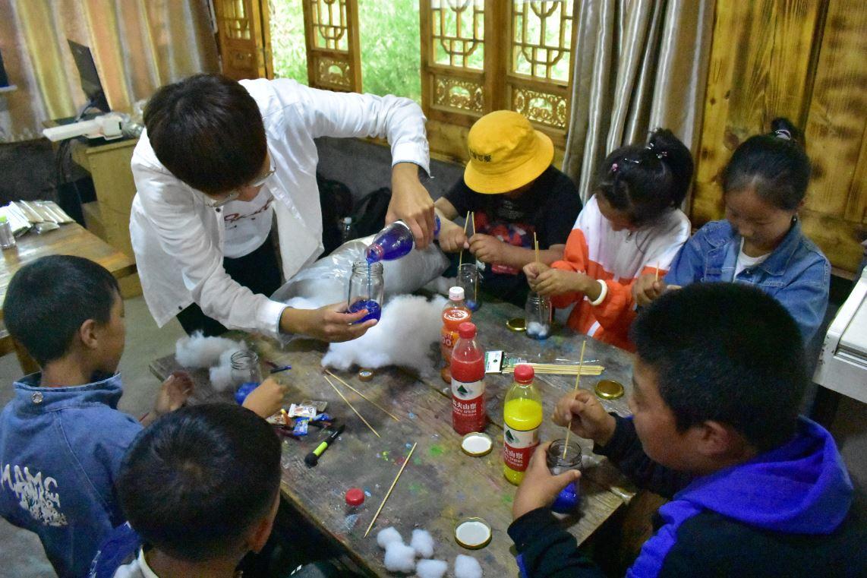 大葉大學海外志工團連續四年到中國四川服務-大葉大學