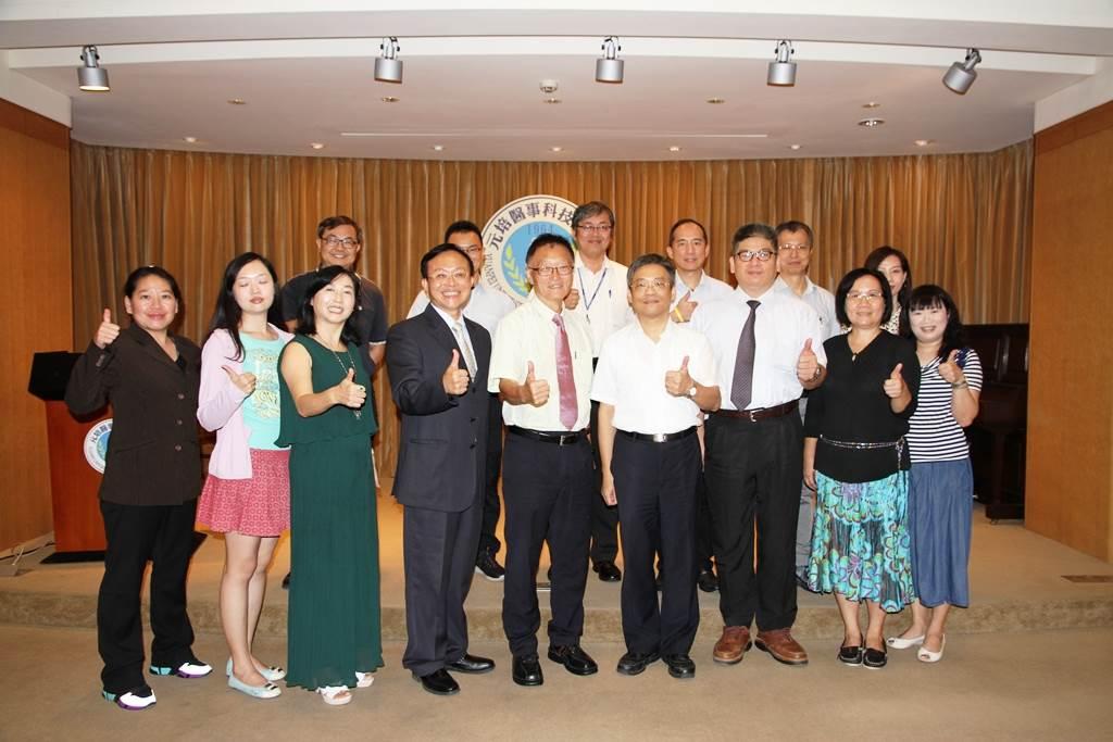 元培醫事科技大學與台北市私立喬治高職簽訂策略聯盟合作事宜-大健康產業人才