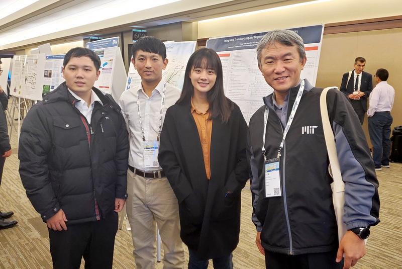 國際賽事常勝軍 成大工資管教授王逸琳團隊勇奪國際鐵道解題競賽亞軍-軌道運輸應用學門