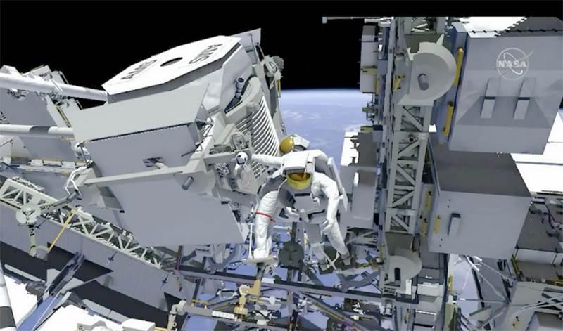 NASA有史以來最艱難的太空維修任務 成大與漢翔攜手展現能量與實力-AMS-02外接散熱系統升級計畫