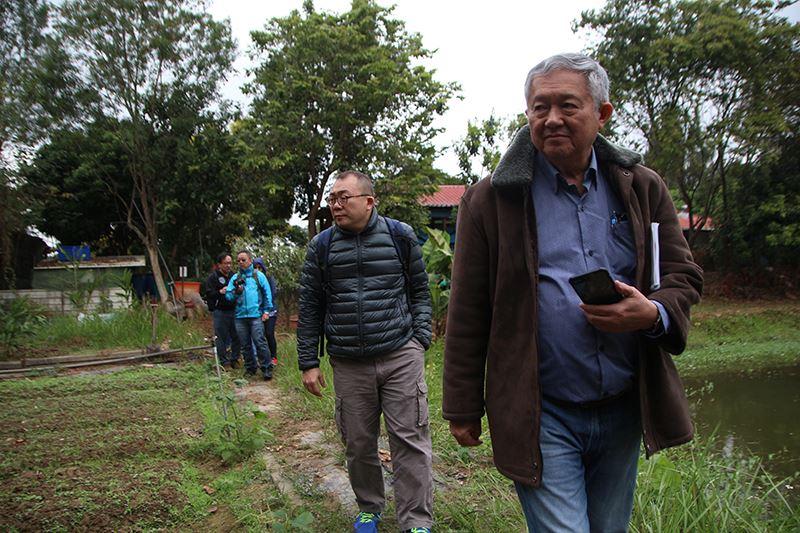 成大農民共學暨友善生態議題 邀外國5學者參訪-大學社會責任實踐計畫USR