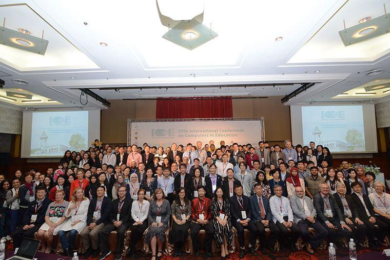 領航教育創新思維 第27屆電腦於教育運用國際研討會盛大舉辦-校園大小事