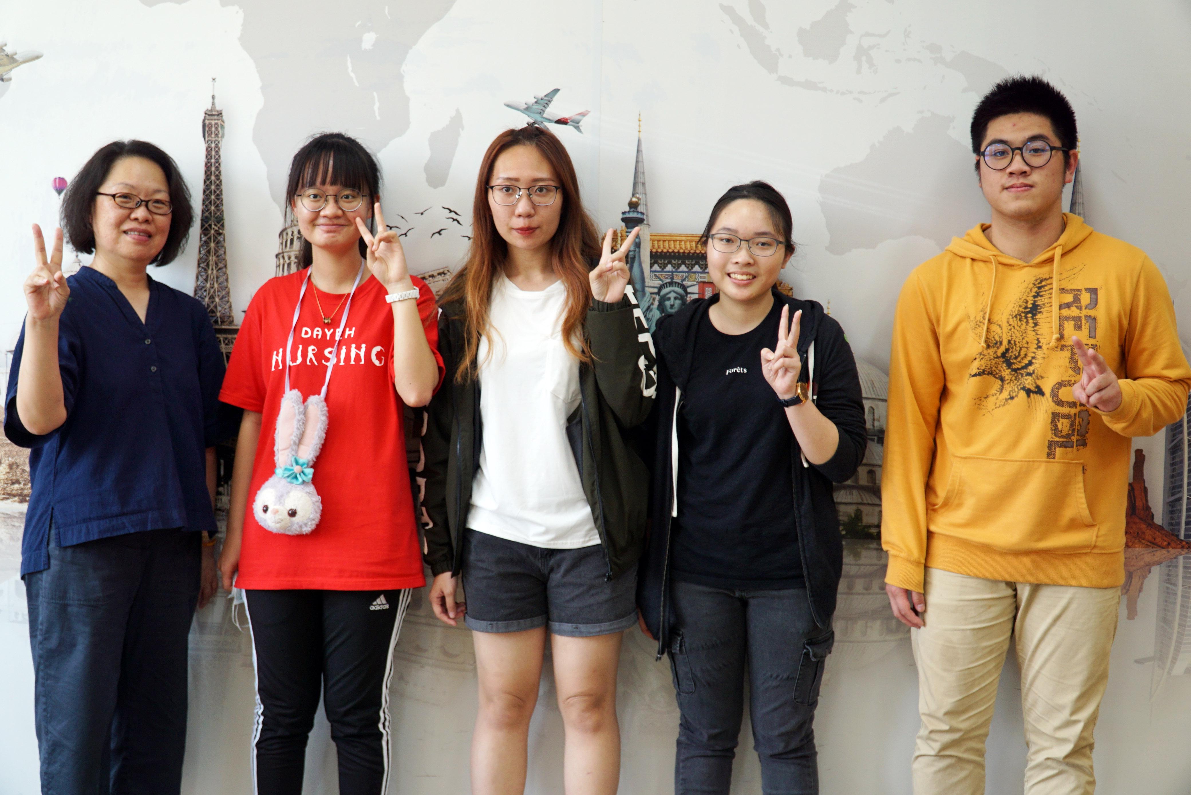 語言學習結合社會議題  大葉大學獲教育部教學實踐研究計畫獎助-大葉大學