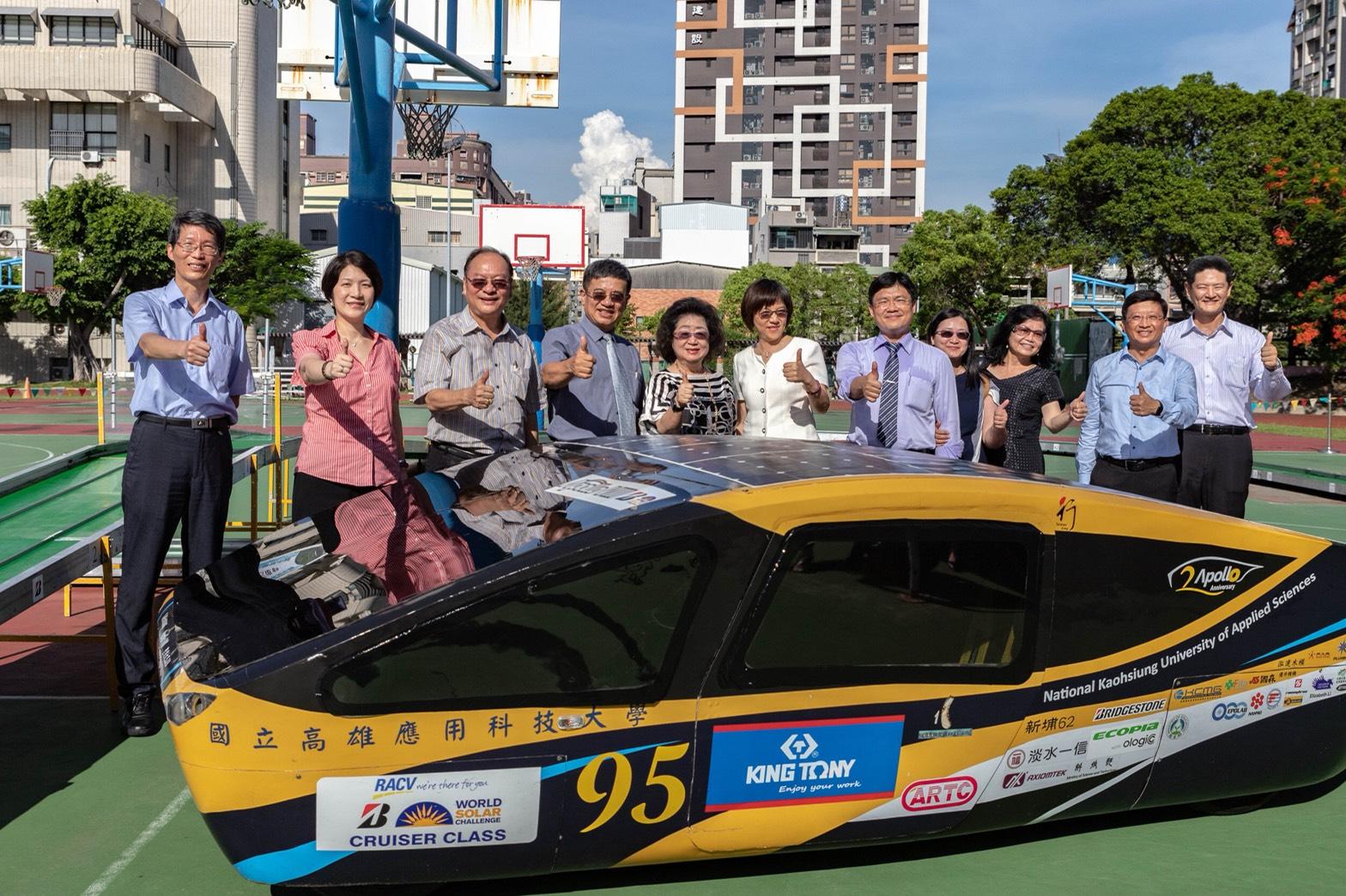 台灣高中職太陽能模型車十年耕耘有成 澳洲賽拼出台灣之光-太陽能教育
