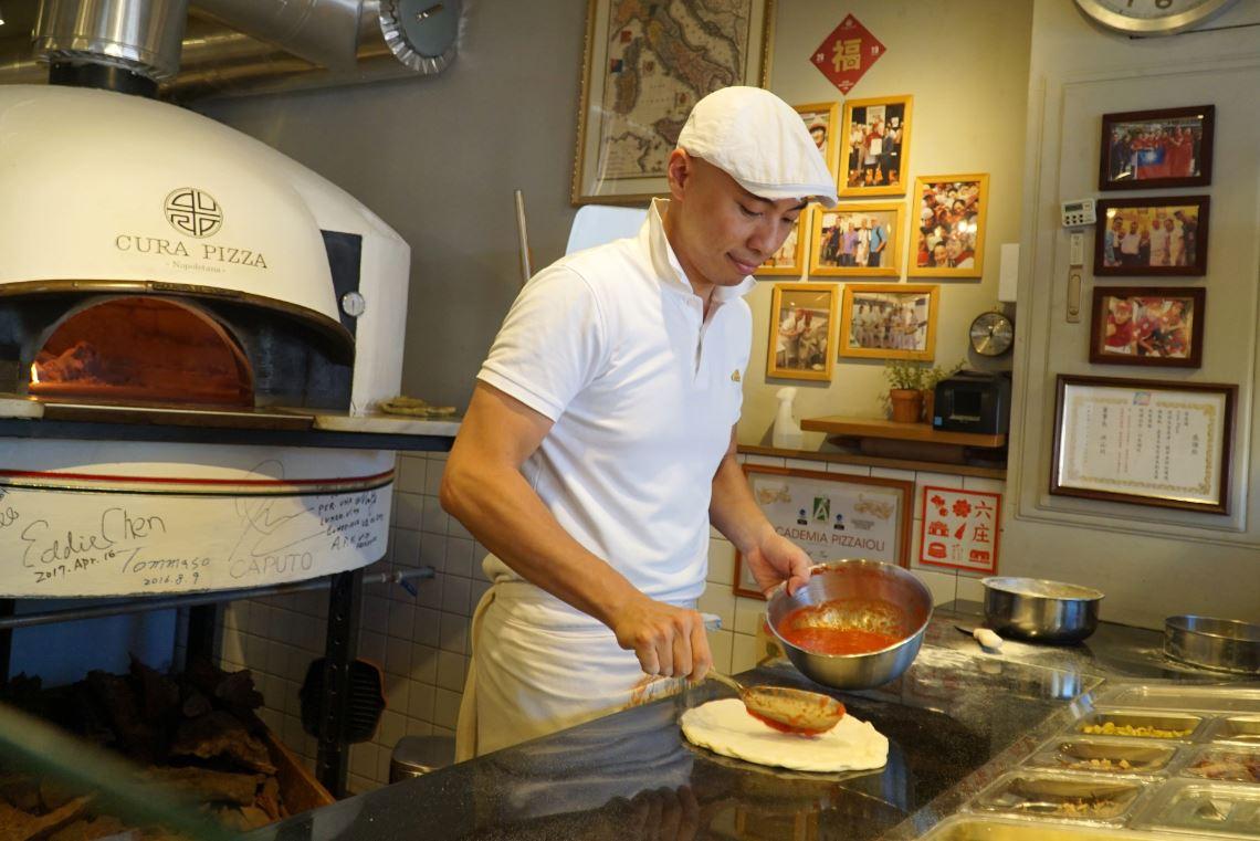 大葉大學校友張中豪  用道地的義式披薩  帶動萬華地方創生-Cura Pizza