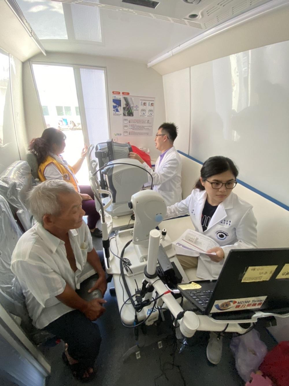 大葉大學視光系攜手國際獅子會  照顧澎湖社區長輩視力健康- 大葉大學
