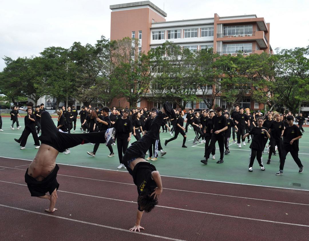 熱舞健身快樂學習 醒吾科大55歲生日快樂-55週年