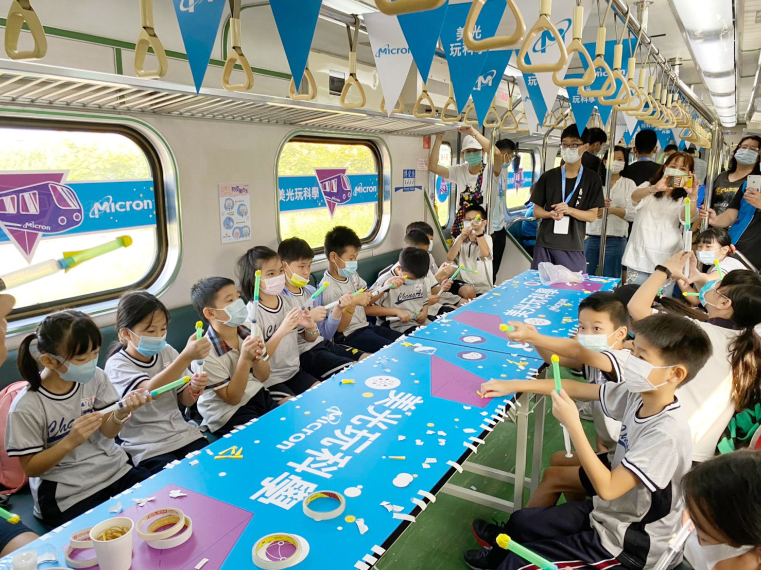 臺灣科普環島列車27日到臺中  大葉大學帶小朋友闖關玩科學-大葉大學