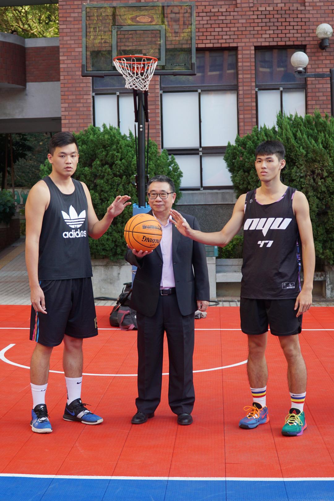 大葉大學校長盃超熱血三對三籃球賽  熱鬧開打-大葉大學
