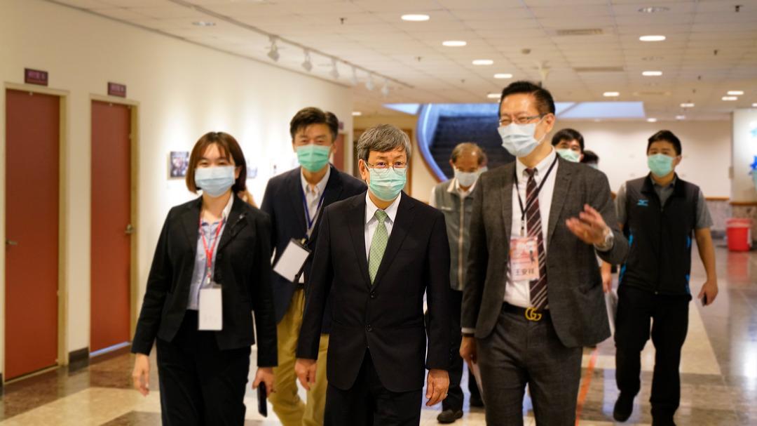 中正大學辦COVID-19傳播創新創業研討會  前副總統陳建仁談疫情下的傳播科技-AI