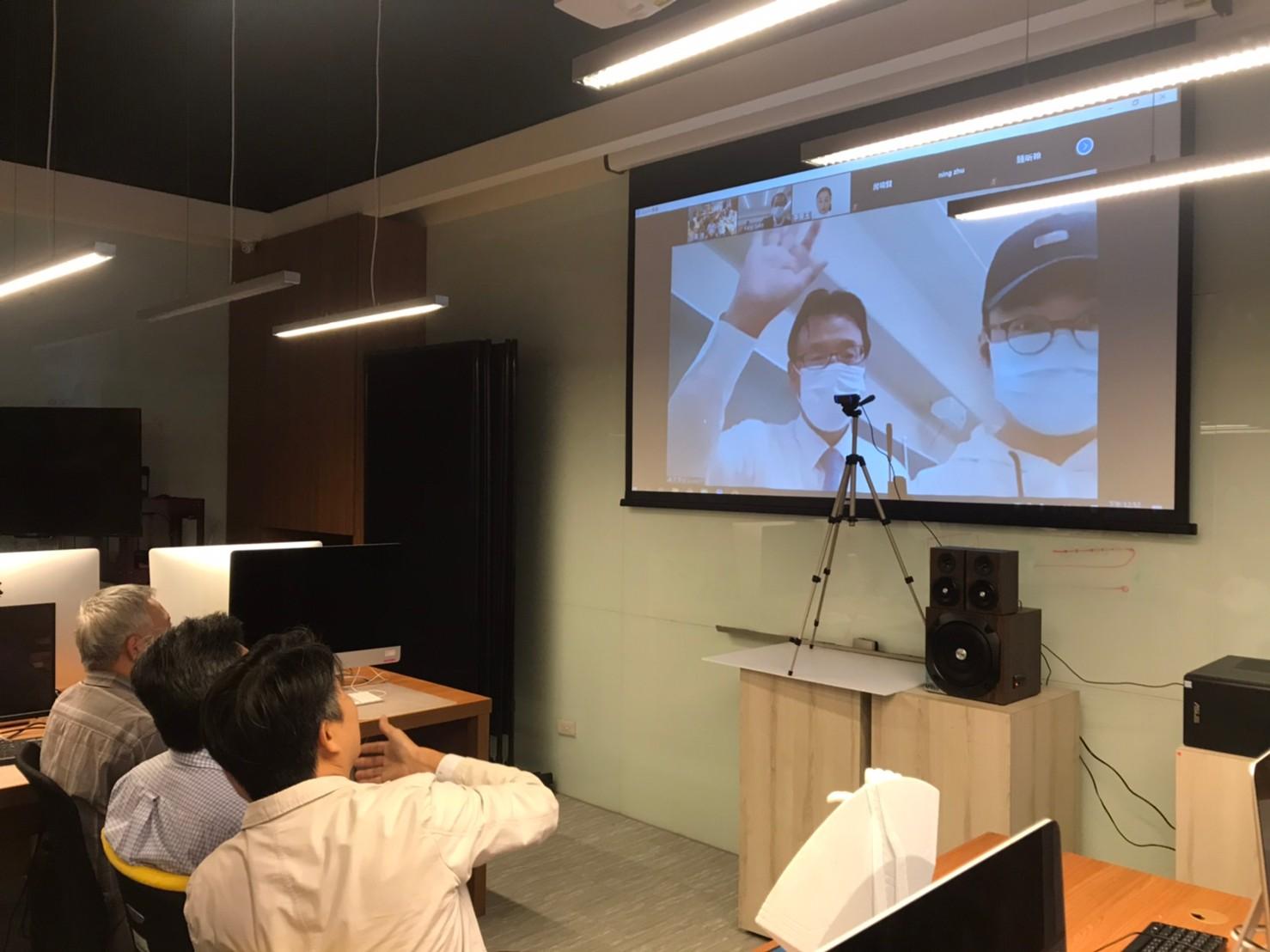 聖約翰科大攜手靜岡理工科大 台日師生遠距視訊交流-日本