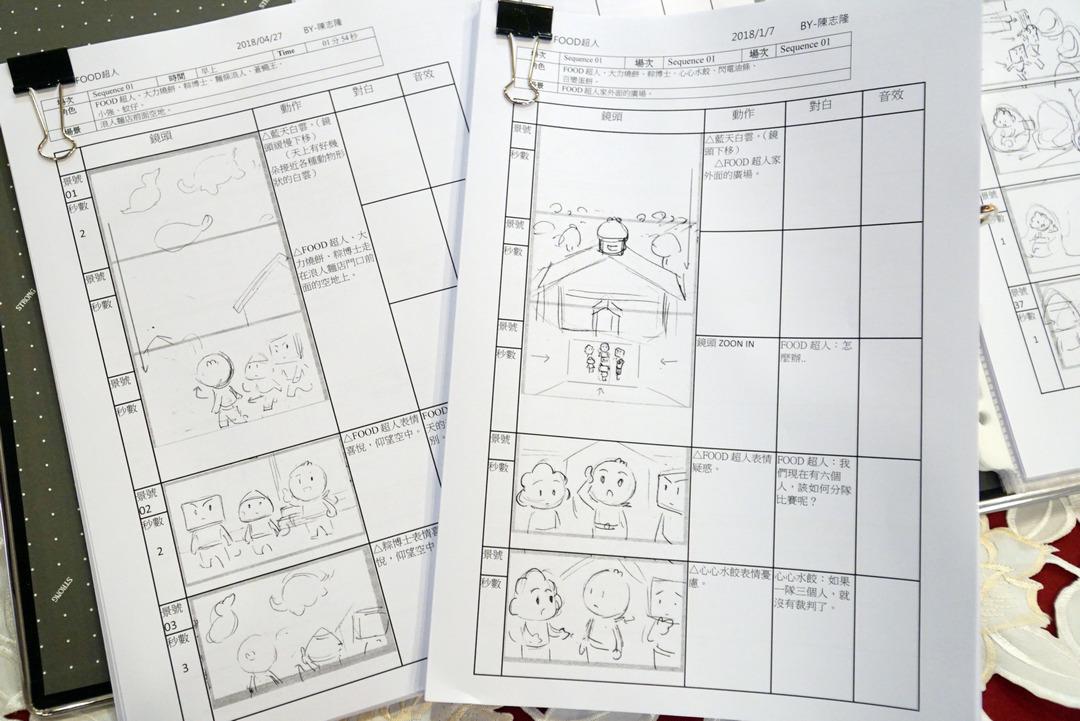 風車圖書攜手大葉大學  多媒體學程編導  FOOD超人第二季勇奪金鐘獎動畫節目獎-大葉大學