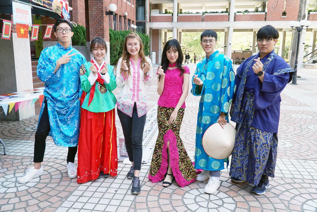 大葉大學玩轉世界嘉年華  境外生展示八國文化-大葉大學