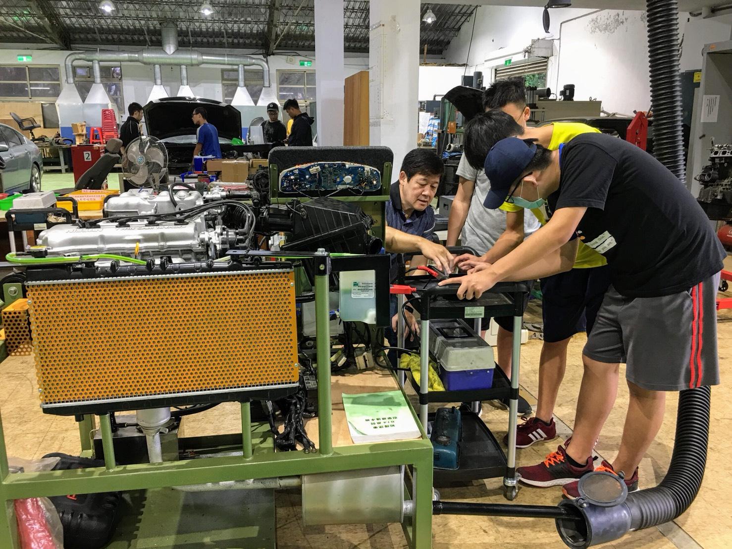 聖約翰科大打造全台唯一專精車輛產業校園 培育汽車修護人才-自動化