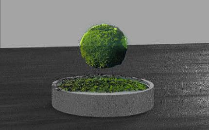 打造現代風格 聖約翰科大環保植栽吸引年輕盆友-盆栽