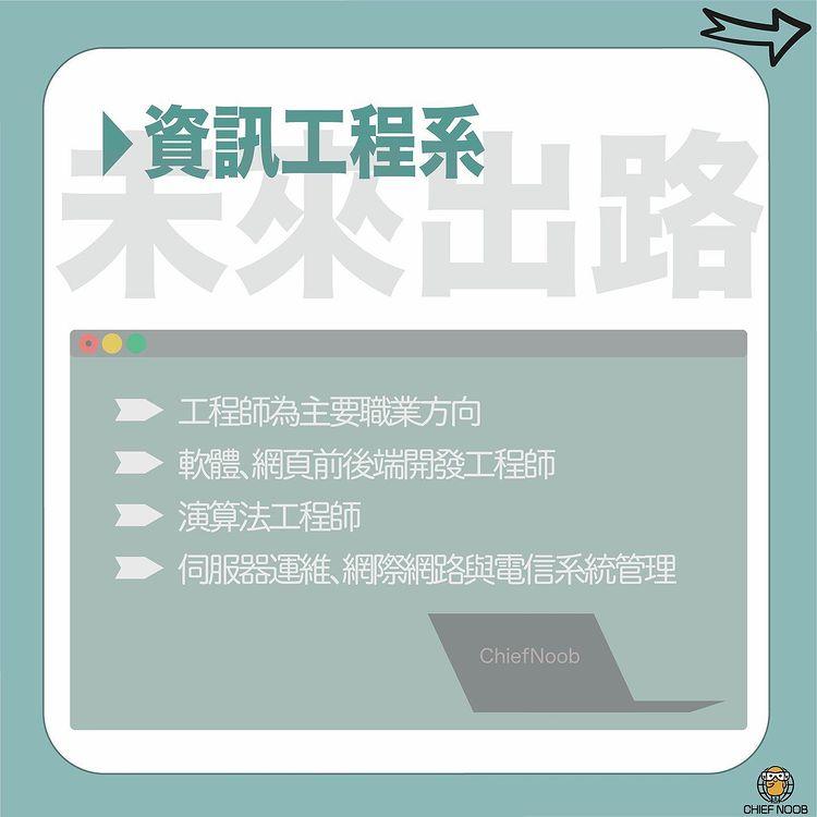 資訊面面觀ep2–資訊科系學什麼?(中)|Chief Noob chief_noob_official-升學面試