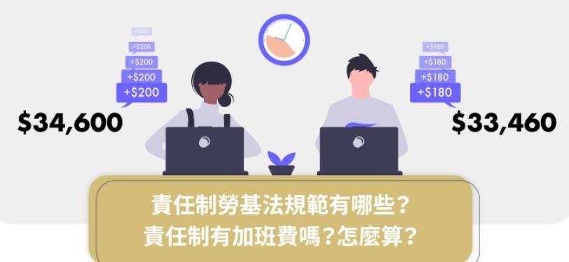 責任制勞基法規範有哪些?責任制有加班費嗎?怎麼算?|法律010-HR