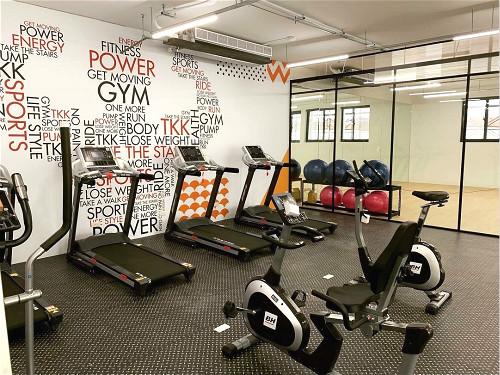 員工健康=公司的幸福 頂呱呱供餐還有全新健身房瑜珈室-企業特寫