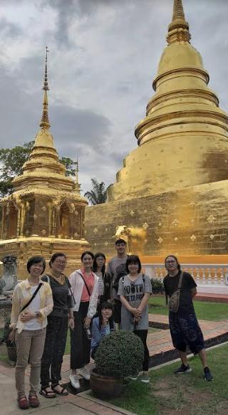 大葉大學造藝系國際交流 泰國清邁四國聯展-大葉大學