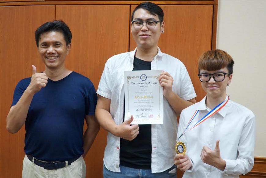 韓國WiC世界創新發明大賽 大葉大學4金2特別獎-大葉大學