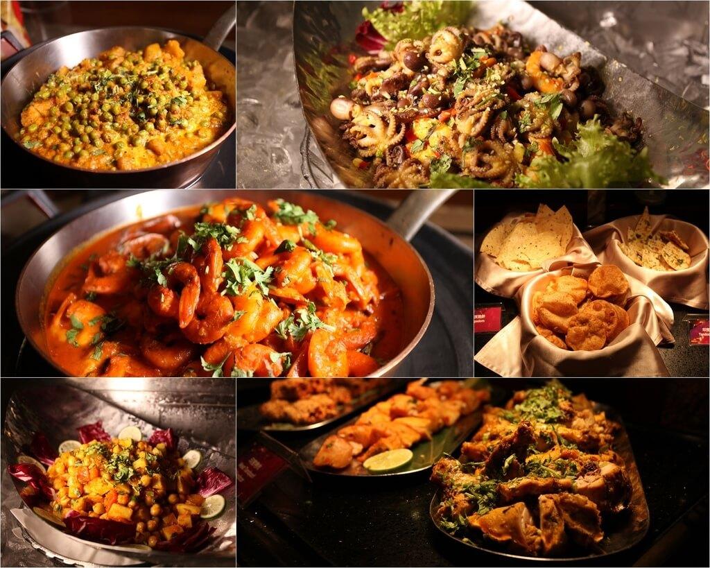 【高雄】星亚自助餐│辛心香印印度美食节│印度菜吃翻天.桑尼瘦不了