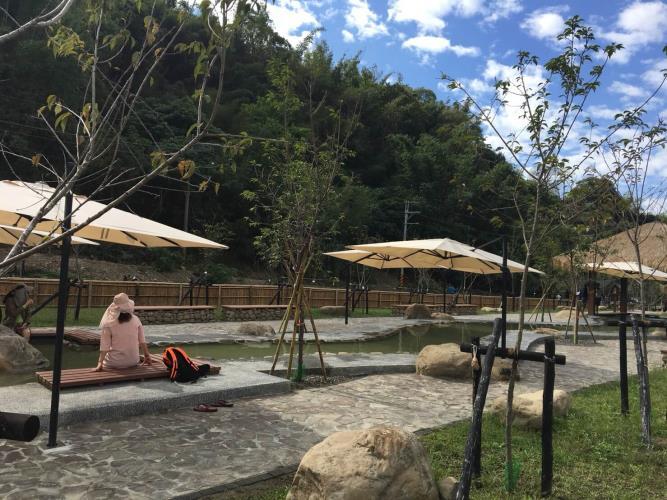 旗山寶來景點-寶來花賞溫泉公園