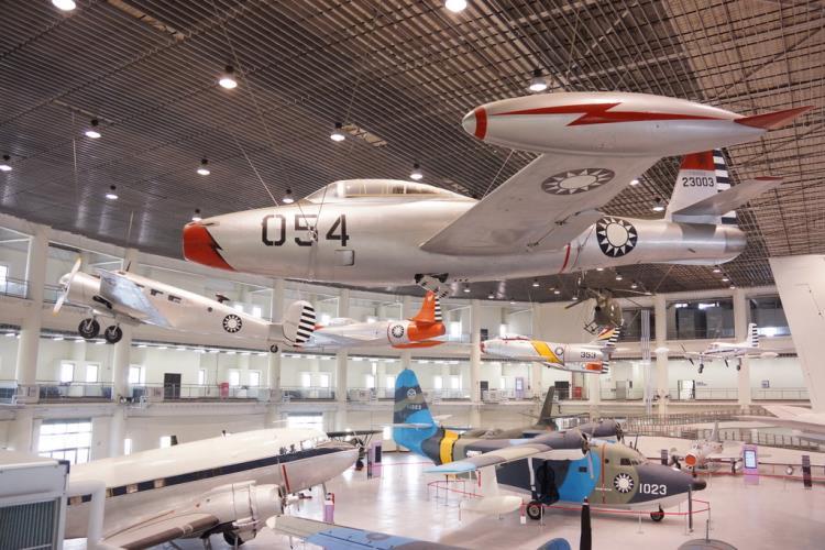 岡山景點-空軍航空教育展示館