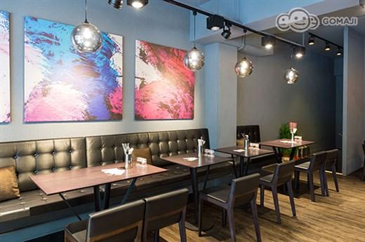 美式西餐厅装修效果图-文创店