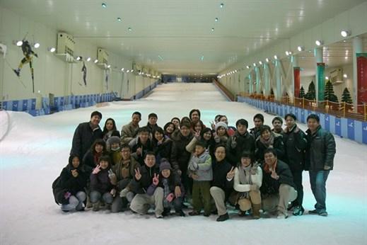 韓國首爾滑雪場